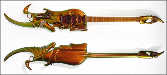 guitare electrique 3 manches